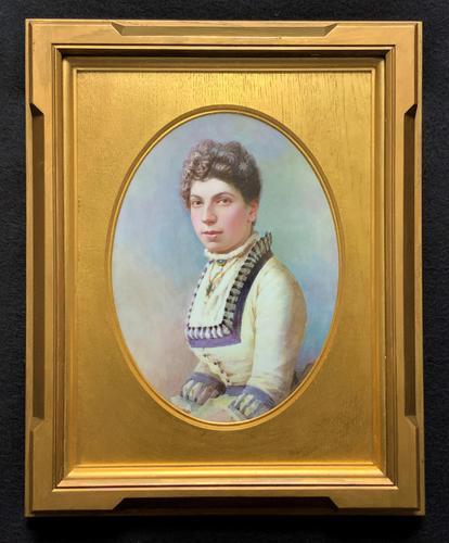 Fine Quality 19th Century Antique English Porcelain Plaque Portrait Painting c.1870 (1 of 11)