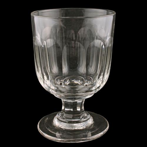 Large Georgian Glass Rummer (1 of 6)