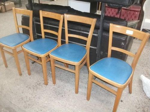 Set of Four Retro Kitchen Chairs (1 of 1)