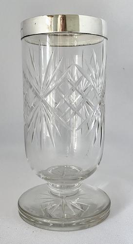 Superb Quality Silver Mounted Celery Vase. London 1921 (1 of 6)
