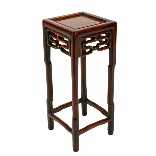 Small Chinese Rosewood Stand (1 of 7)