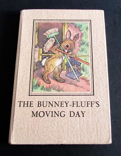1950 Ladybird Book 'The Bunney Fluff's Moving Day' by A. J.  Macgregor, 1st Edition with Original Dust Jacket (1 of 5)