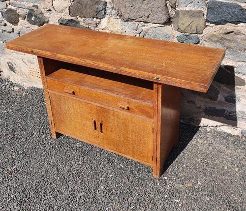 Rare Heal's Oak Cabinet Come Table (1 of 7)