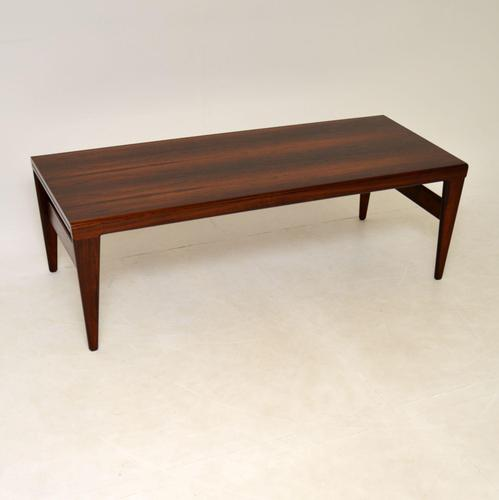 Danish Vintage Rosewood Coffee Table by Illum Wikkelso (1 of 12)