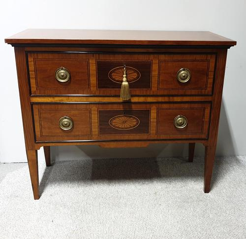 Super French Inlaid Commode Chest of Drawers (1 of 8)