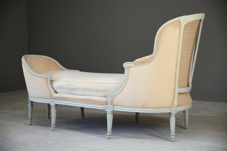 French Style Duchess En Bateau Chaise Longue (1 of 12)