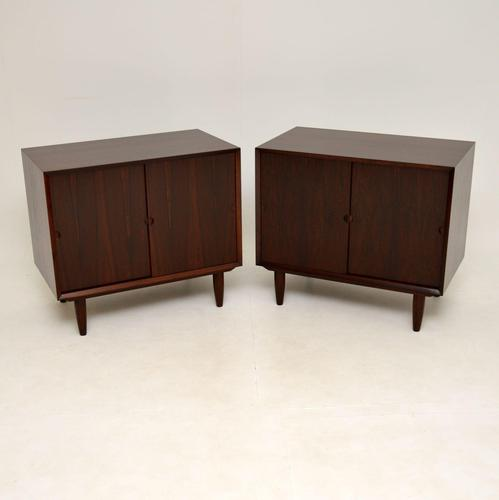 Pair of Danish Vintage Rosewood Cabinets by Poul Cadovius (1 of 14)
