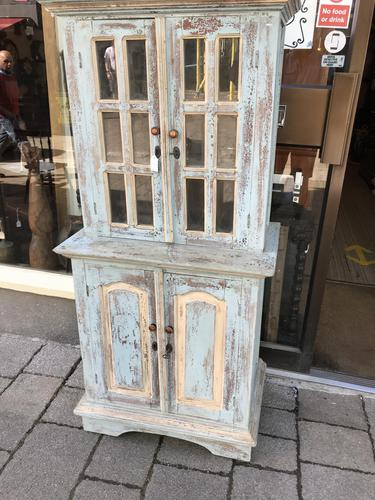 Lovely Small Stressed Pine Dresser (1 of 10)