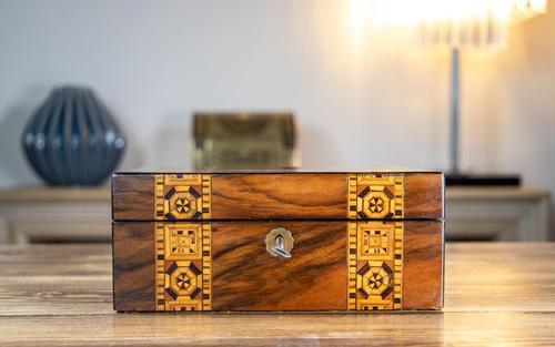 Victorian Tunbridge Ware Table Box (1 of 9)