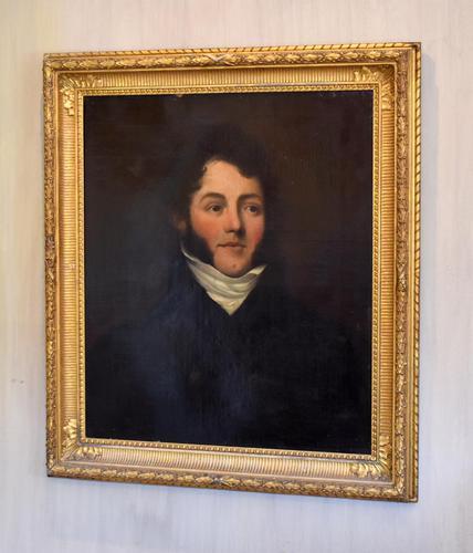Fine Regency Period Oil Portrait of a Gentleman (1 of 9)