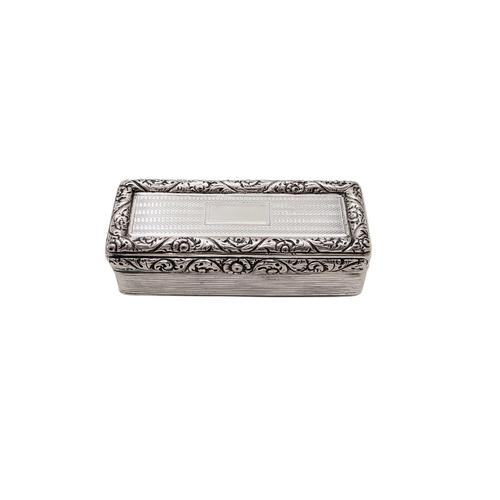 Antique Georgian Sterling Silver Snuff Box  1827 (1 of 11)