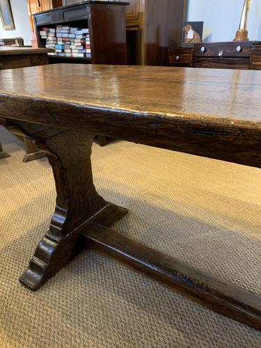 Oak refectory table (1 of 9)