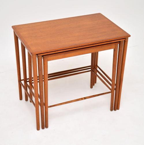Danish Vintage Teak Nest of Tables by Grete Jalk (1 of 11)