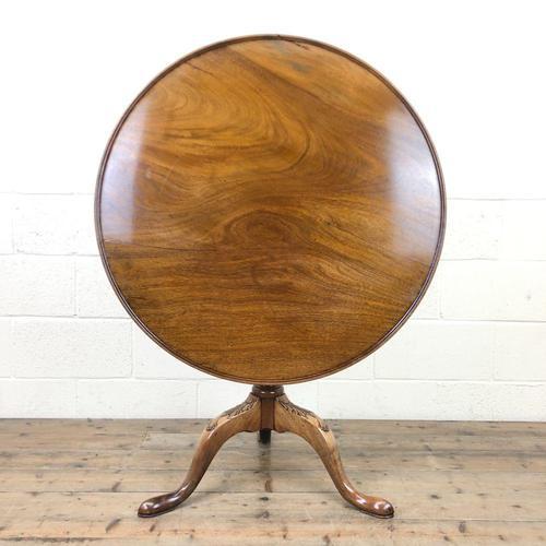 Georgian Mahogany Birdcage Pedestal Table (1 of 11)