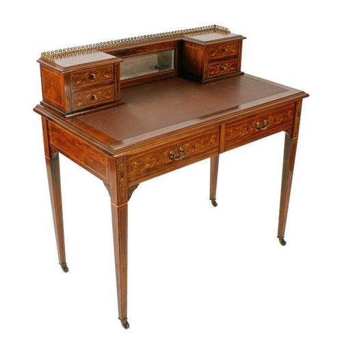Maple & Co Rosewood Writing Table (1 of 8)