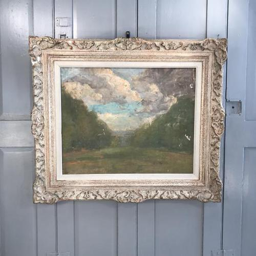 Antique Impressionist study in oil on canvas by Albert de Belleroche (1 of 11)