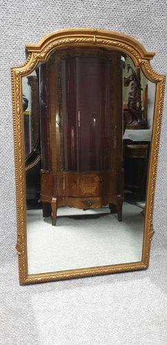 Good English Gilt Arched Top Mirror (1 of 6)