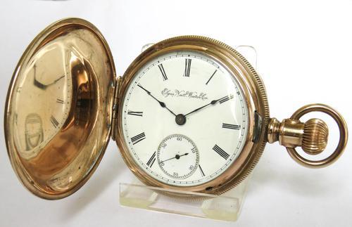 Antique Elgin pocket watch, 1891 (1 of 6)