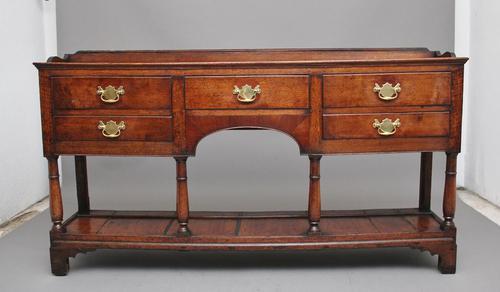 18th Century Oak Potboard Dresser (1 of 10)