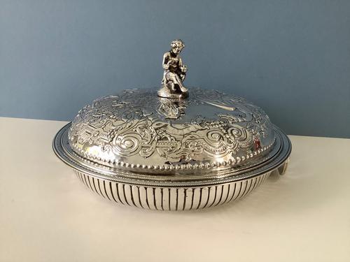 Antique Georgian Silver Entree Dish - Hester Bateman (1 of 10)