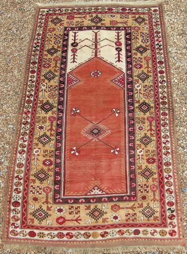 Antique Melas Prayer Rug (1 of 7)