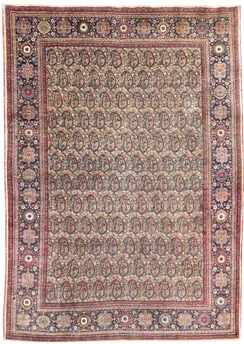 Antique Tabriz Rug (1 of 8)