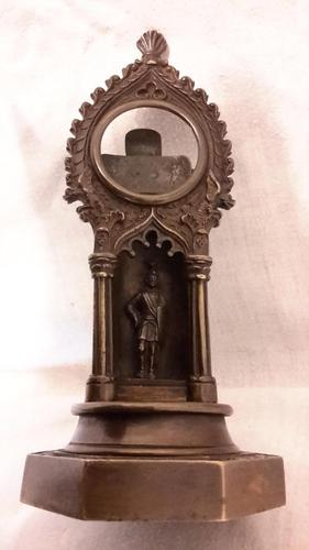 Victorian Bronze Watch Stand (1 of 9)