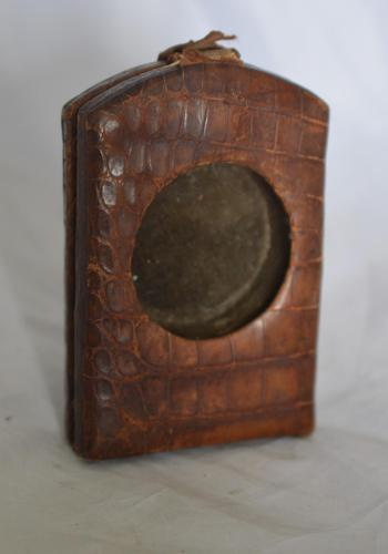 Leather Pocket Watch Stand (1 of 3)