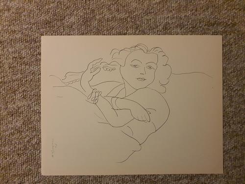 Young Girl Sleeping (1 of 1)