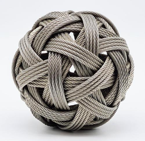 Stainless Steel Wire Sphere by Dail Benhenna (1 of 4)