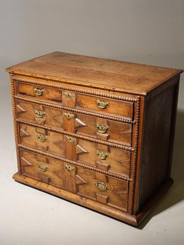 Late 17th Century Walnut Chest of Drawers (1 of 4)