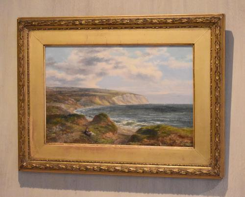Fine Oil Painting of the White Cliffs of Dover (1 of 7)