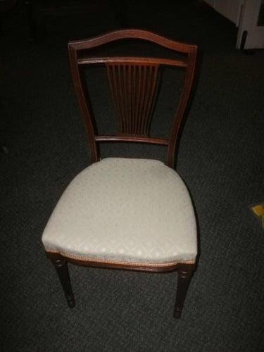 Mahogany Bedroom Chair (1 of 2)
