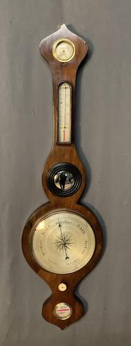 Regency Rosewood Mercury Barometer (1 of 5)