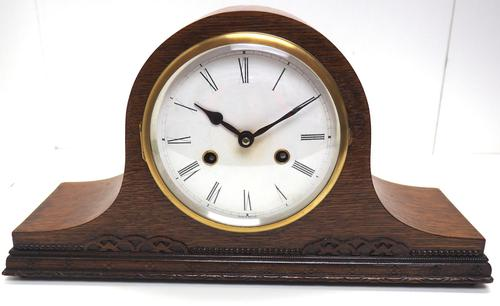 Good Napoleon Hat Shaped Mantel Clock – Striking 8-day Mantle Clock (1 of 11)