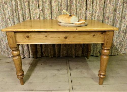 Antique Pine Farmhouse Table c.1860 (1 of 9)