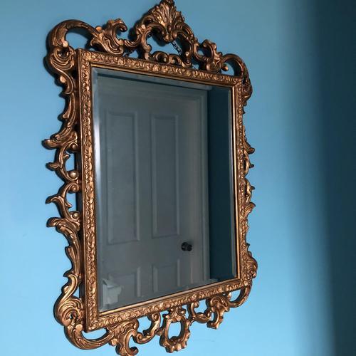 Victorian Gesso Wall Mirror (1 of 19)