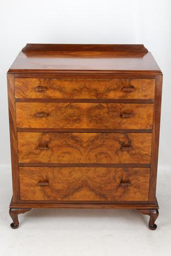 Art Deco Burr Walnut Chest of Drawers (1 of 12)