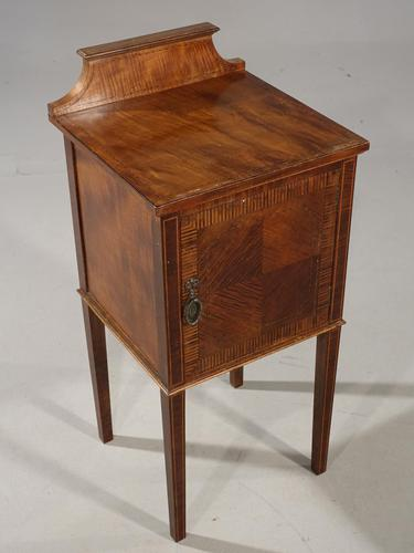 Elegant Early 20th Century Mahogany Night Cupboard (1 of 5)