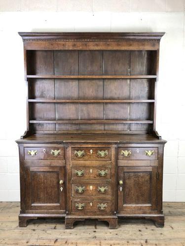 Antique 19th Century Oak Kitchen Dresser (1 of 9)