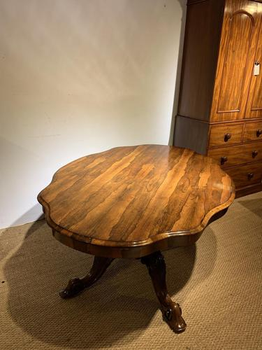 Victorian Rosewood Centre Table / Loo Table (1 of 11)