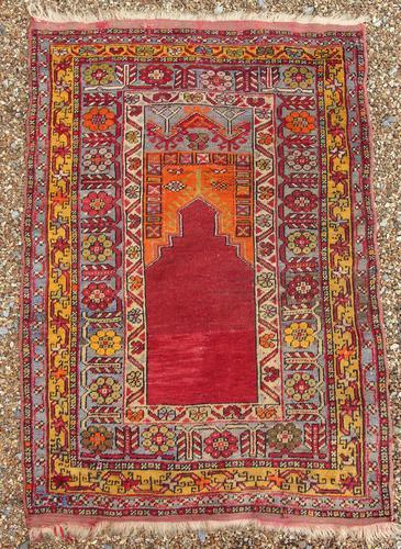 Antique Anatolian Prayer Rug (1 of 8)