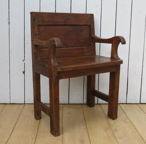 Antique French Bishops Chair (1 of 8)