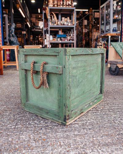 Vintage Cornish Storage Box (1 of 4)