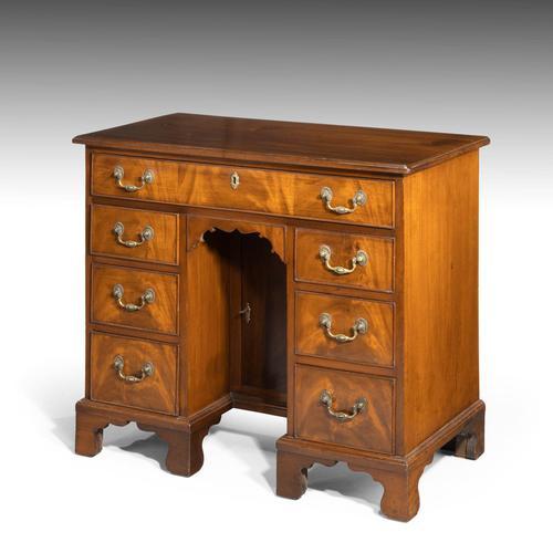 George III Period Mahogany Kneehole Desk (1 of 3)