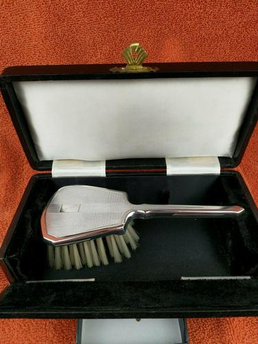 Silver Cased Art Deco French Brush c.1925 (1 of 9)