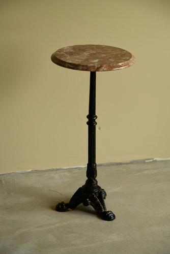 Small Marble & Cast Iron Table (1 of 11)