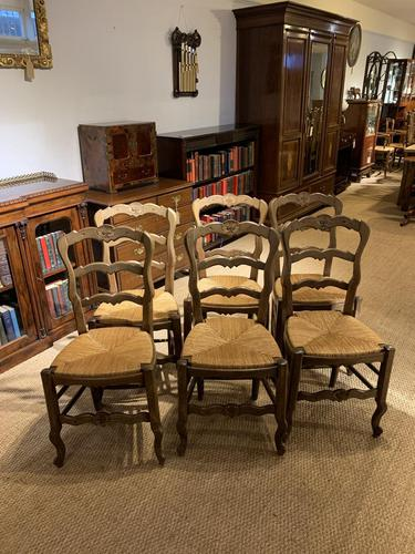 Set of 6 Country Chairs (1 of 9)