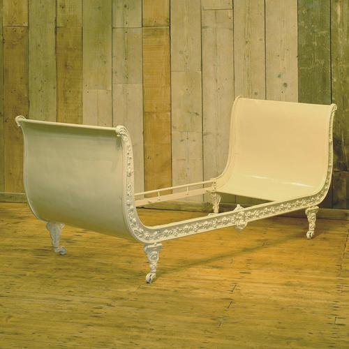 Cast Iron Daybed in Cream (1 of 9)