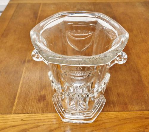 Hand Cut Crystal Champaign Ice Bucket, Wine Cooler (1 of 6)